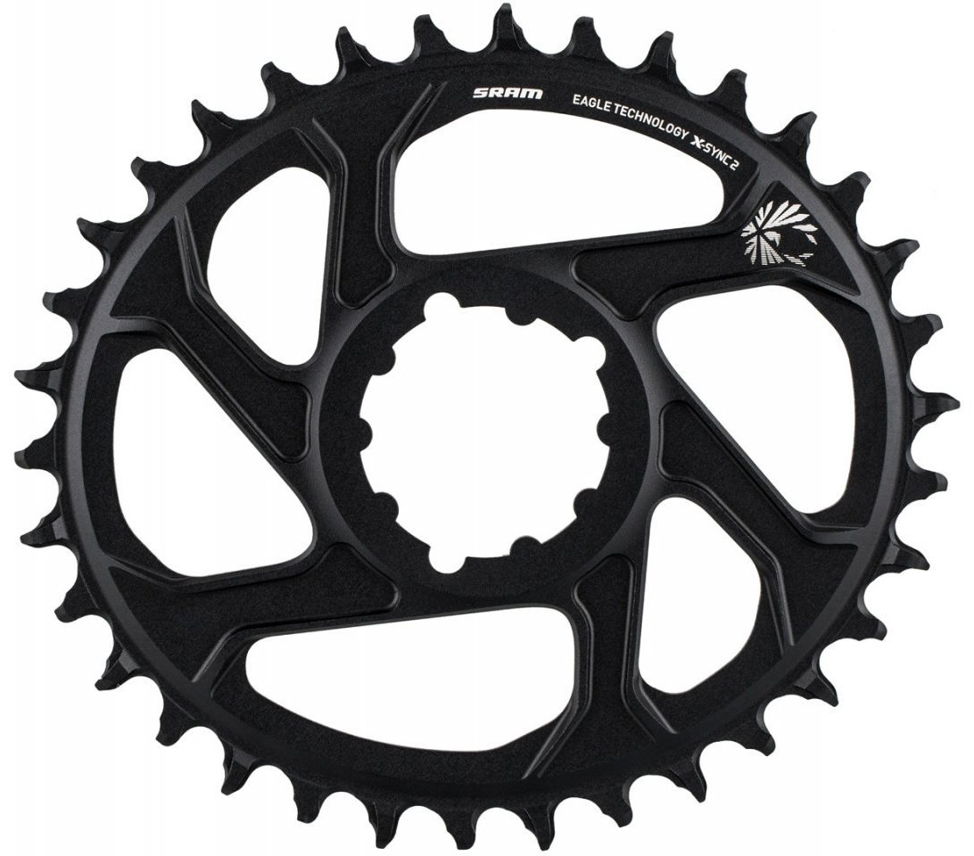 Звезда Sram X-SYNC Eagle OVAL 38T DM 6 OFF BLK 11.6218.038.070