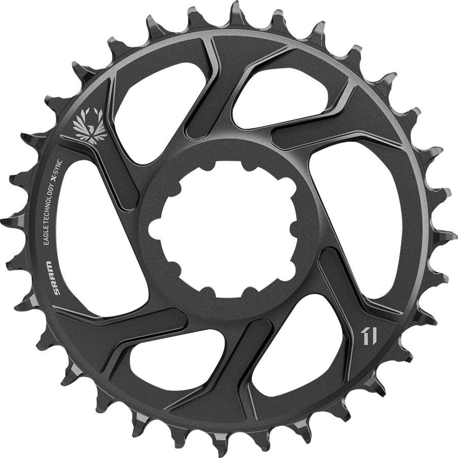 Звезда Sram X-SYNC Eagle 34T DM 6 OFFSET BLK 11.6218.030.020