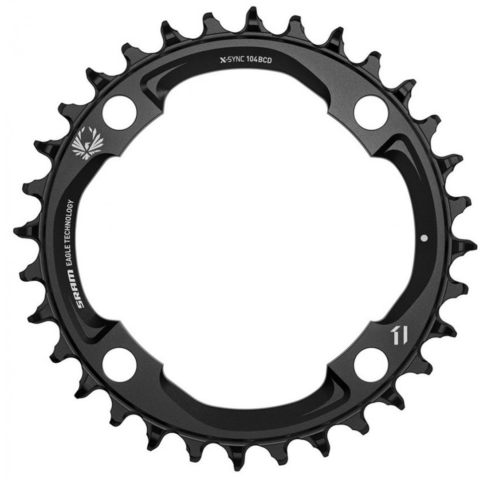 Звезда Sram X-SYNC Eagle 38T 104 BLK 11.6218.033.030