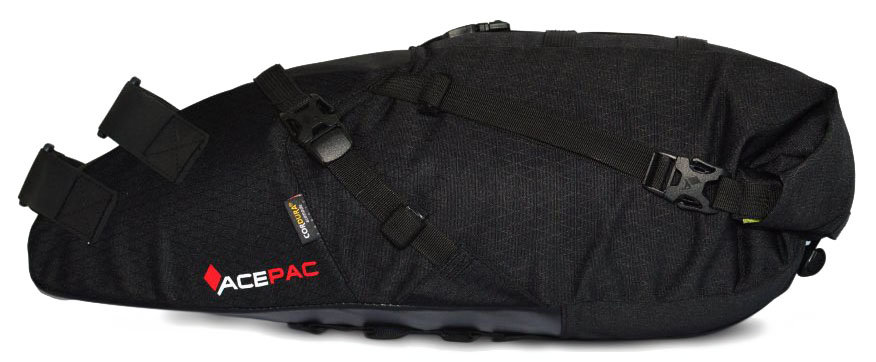 Сумка на раму Ace Pac BAR ROLL black