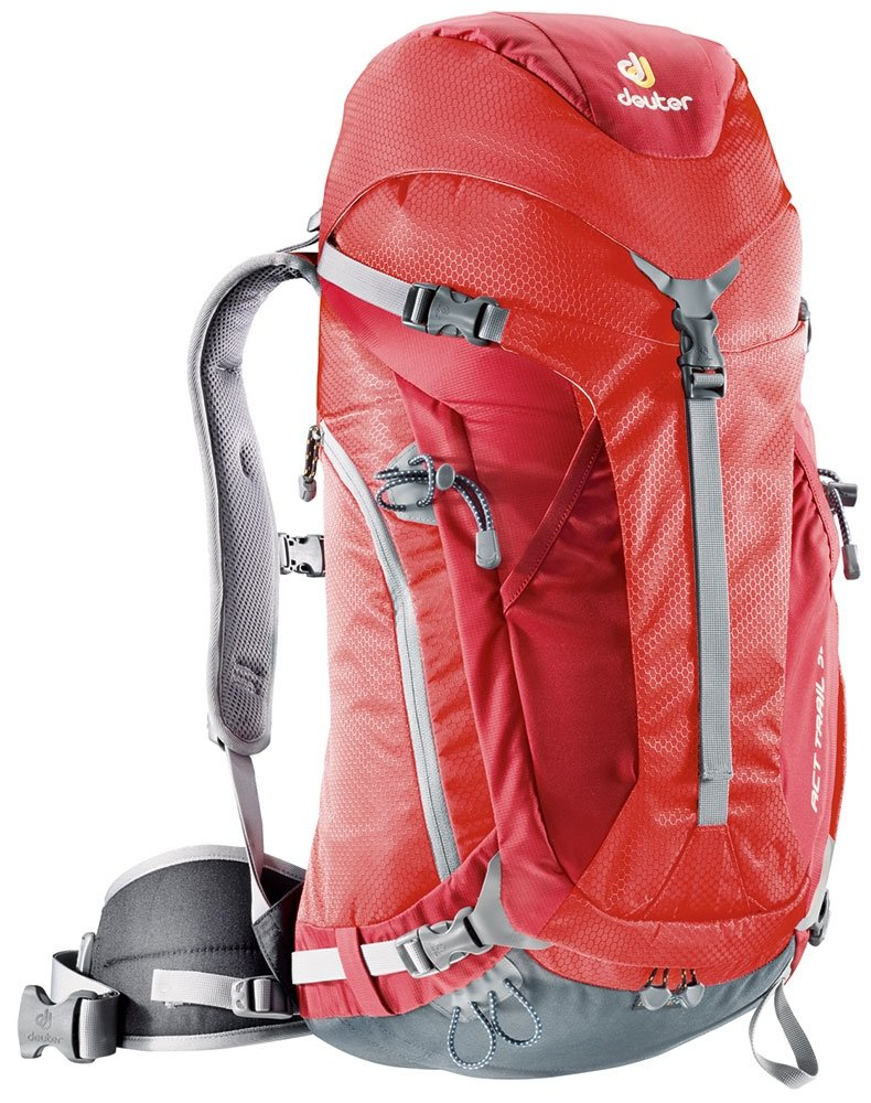 Рюкзак Deuter ACT Trail 32 цвет 5520 fire-cranberry 34432 5520