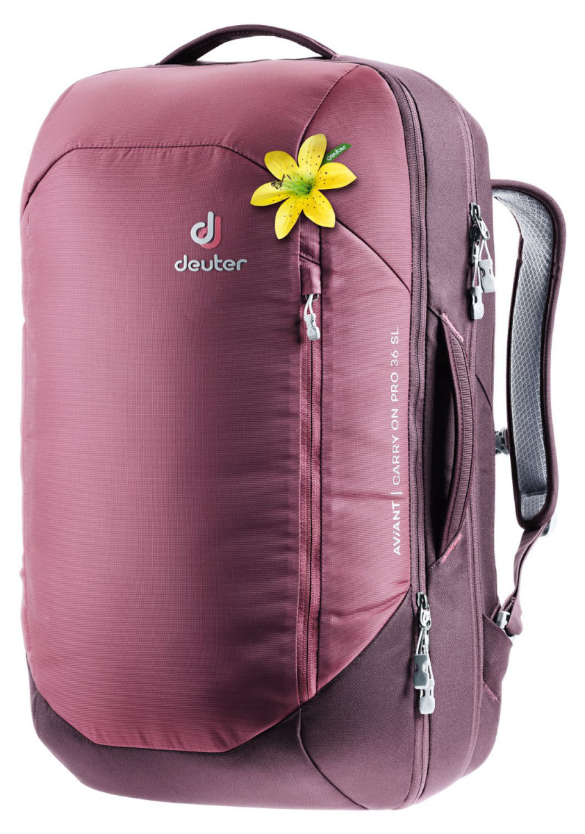 Рюкзак Deuter Aviant Carry On Pro 36 SL maron-aubergine 3510320 5543