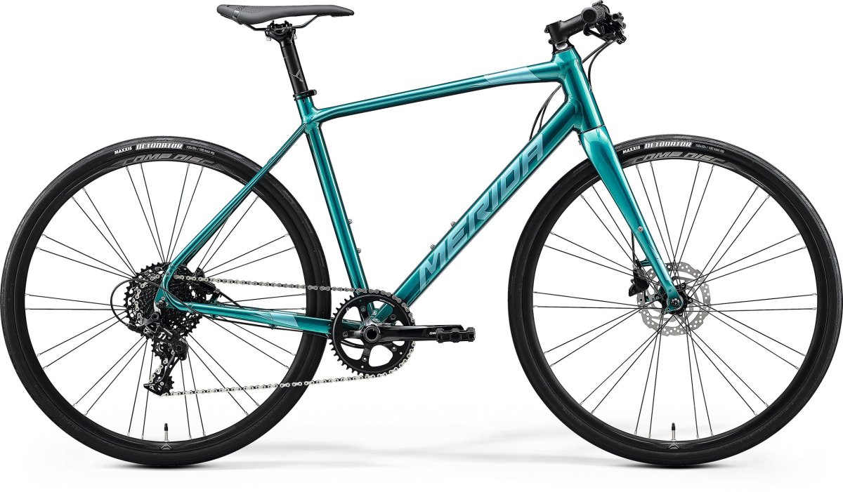 Велосипед Merida Speeder Limited glossy green blue (teal) 6110829379 6110829391