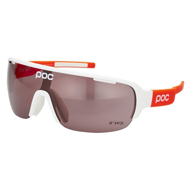 Очки POC DO Half Blade AVIP White/Zink Orange/Violet/Light Silver PC DOHB55108042VLS1
