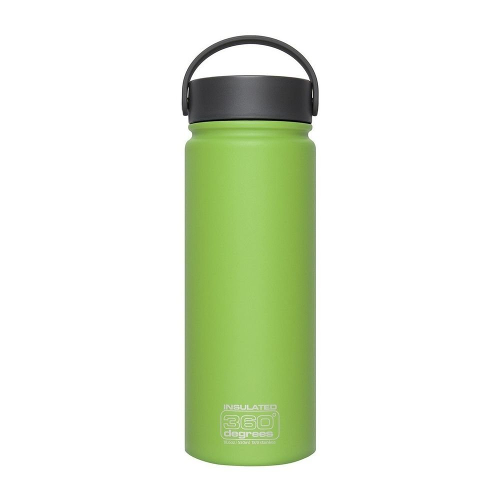 Термофляга Sea to Summit Wide Mouth Insulated Green 550 ml STS 360SSWMI550BGR