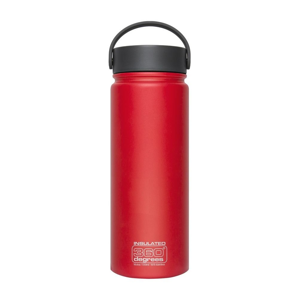 Термофляга Sea to Summit Wide Mouth Insulated Red  550 ml