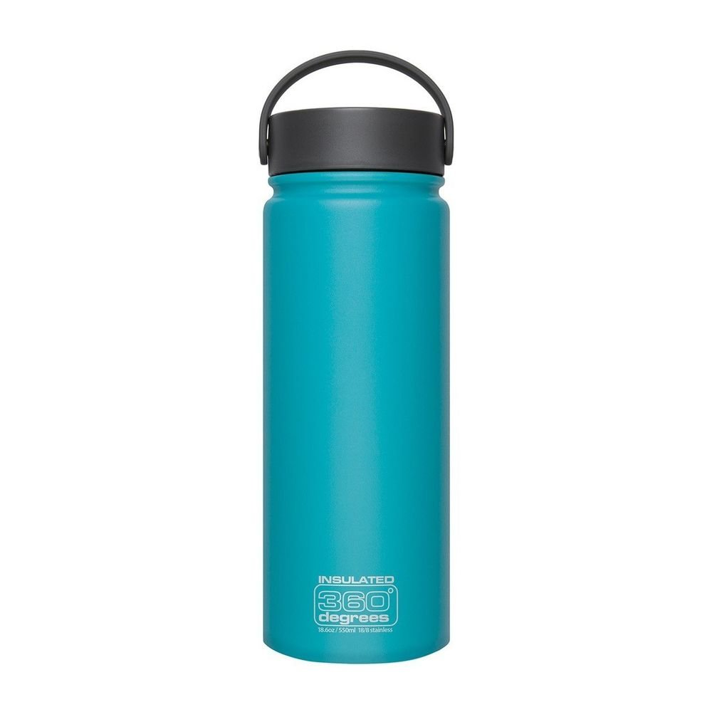 Термофляга Sea to Summit Wide Mouth Insulated Teal 550 ml STS 360SSWMI550TEAL