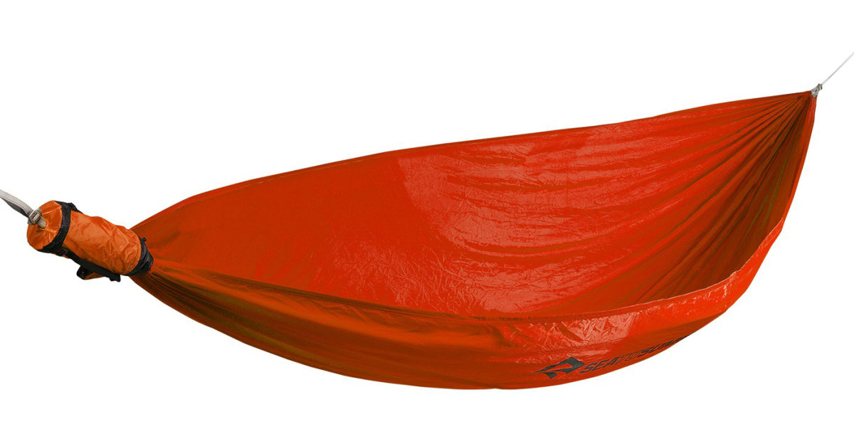 Гамак SEA TO SUMMIT Hammock Single Red STS AHAMSRD