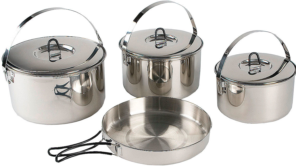 Набор посуды Tatonka Family Cook Set L TAT 4024.000