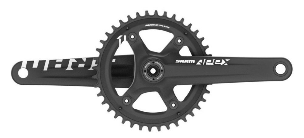 Шатуны Sram AM FC APEX 1 BB30 172,5 BLK 42T XSYNC 00.6118.477.002