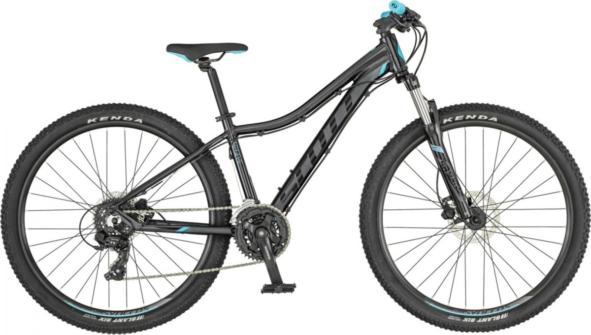 Велосипед Scott Contessa 730 black/light blue 269933.005