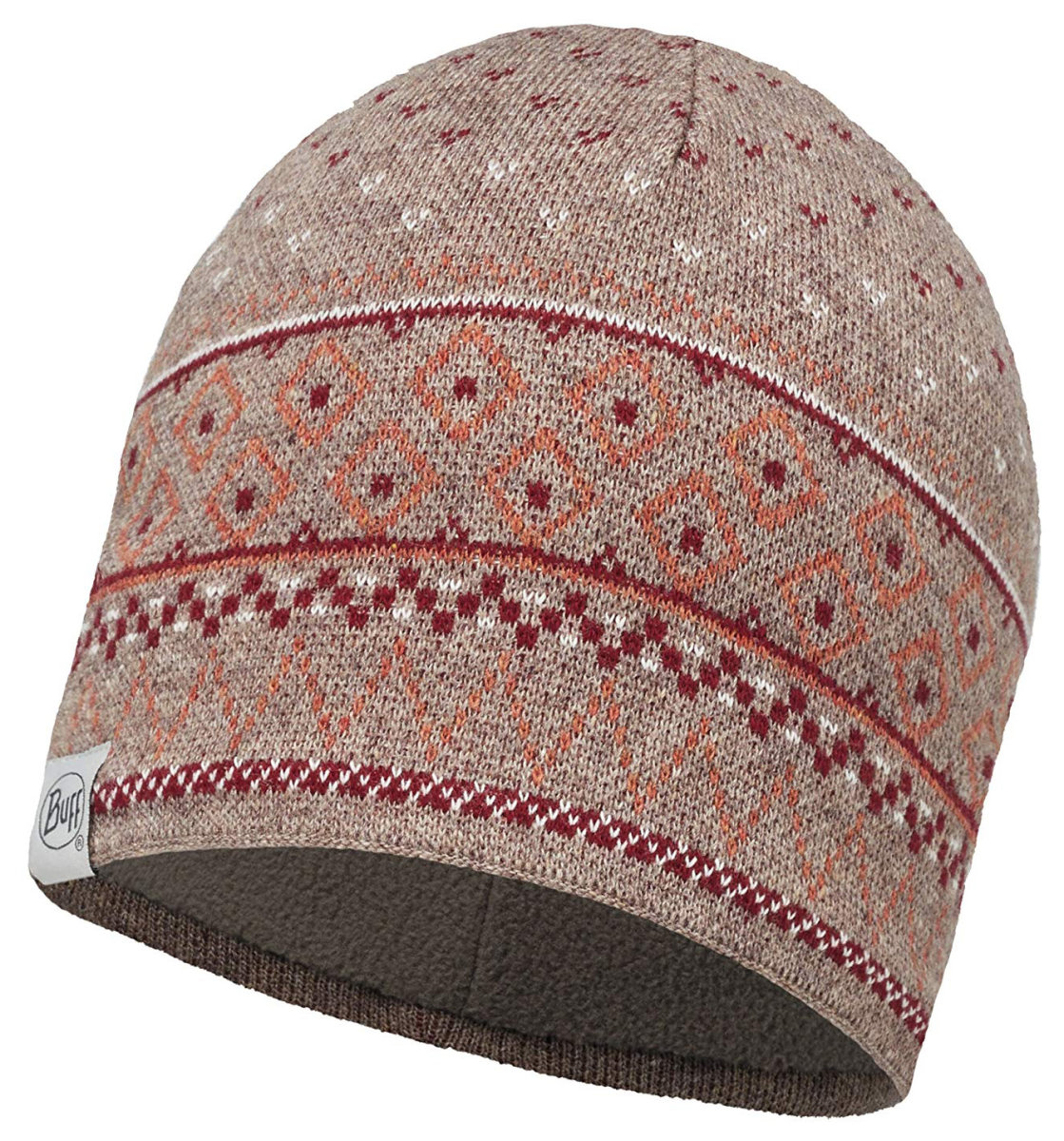 Шапка Buff Knitted & Polar Hat Edna fossil BU 113517.311.10.00