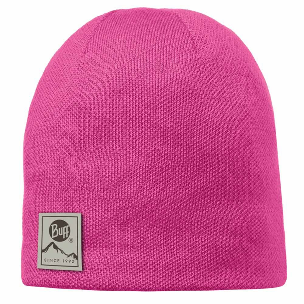 Шапка Buff Knitted & Polar Hat Solid magenta BU 110995.535.10.00