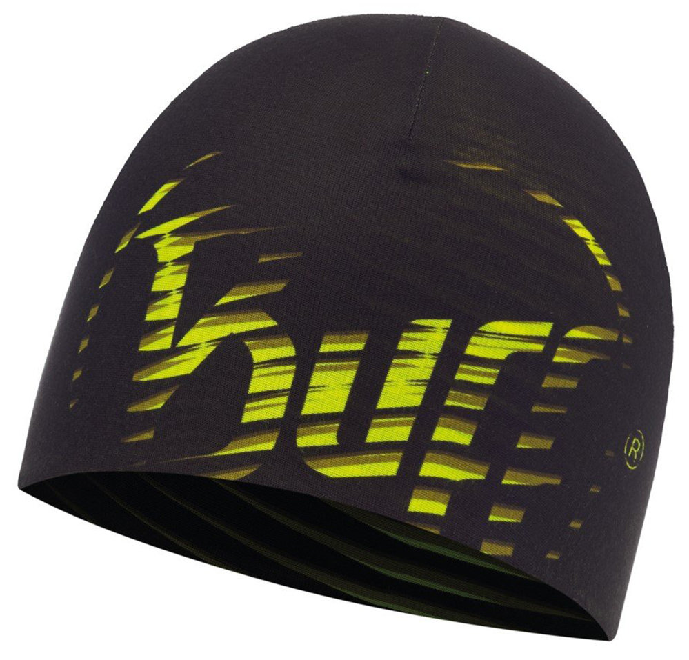 Шапка Buff Microfiber Reversible Hat optical yellow fluor BU 117102.117.10.00