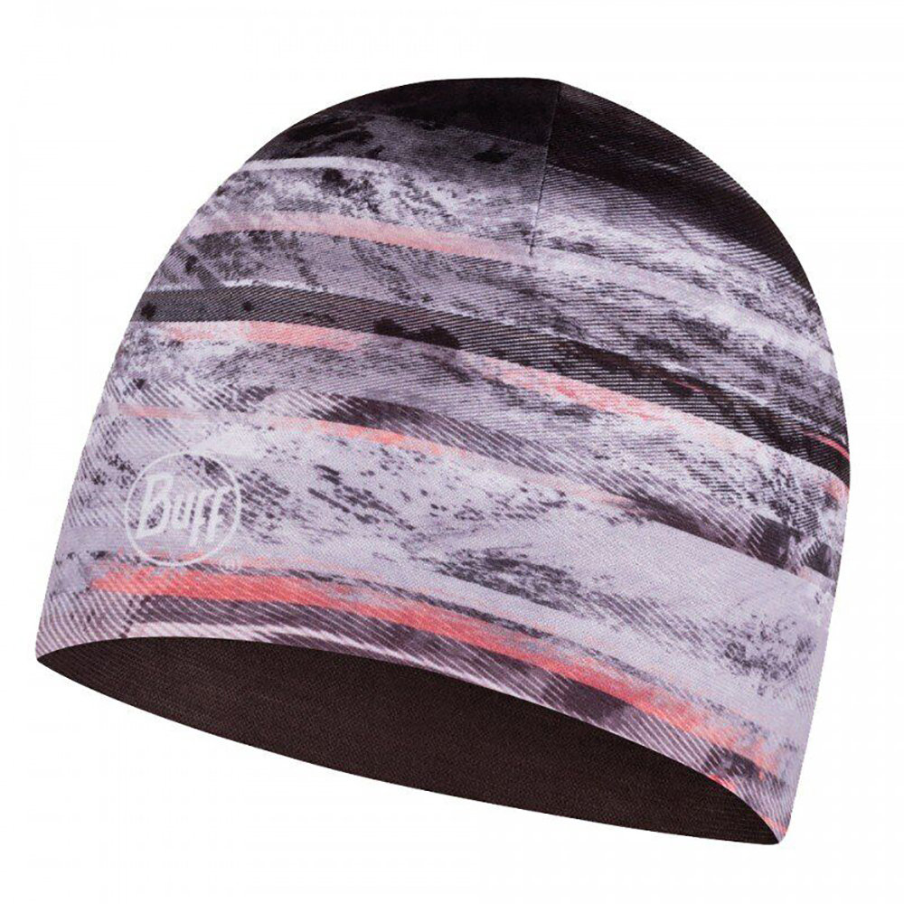 Шапка Buff Microfiber Reversible Hat tephra multi BU 121600.555.10.00