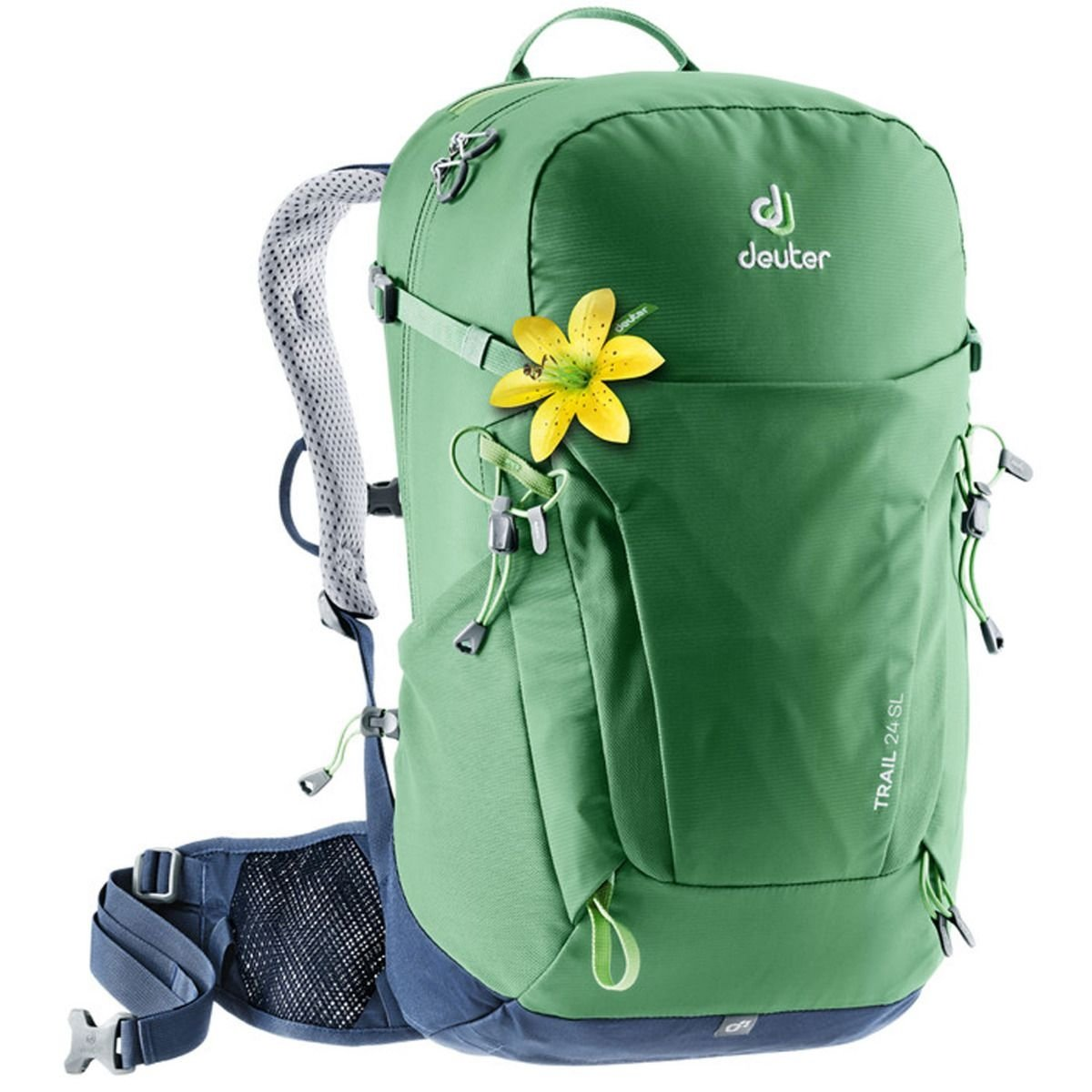 Рюкзак Deuter Trail 24 SL цвет 2326 leaf-navy 3440219 2326