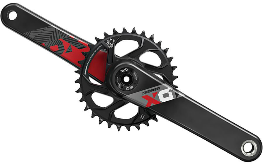 Шатуны Sram X01 EAGLE AM FC X01 DUB 175 RED DM 32T 00.6118.527.000
