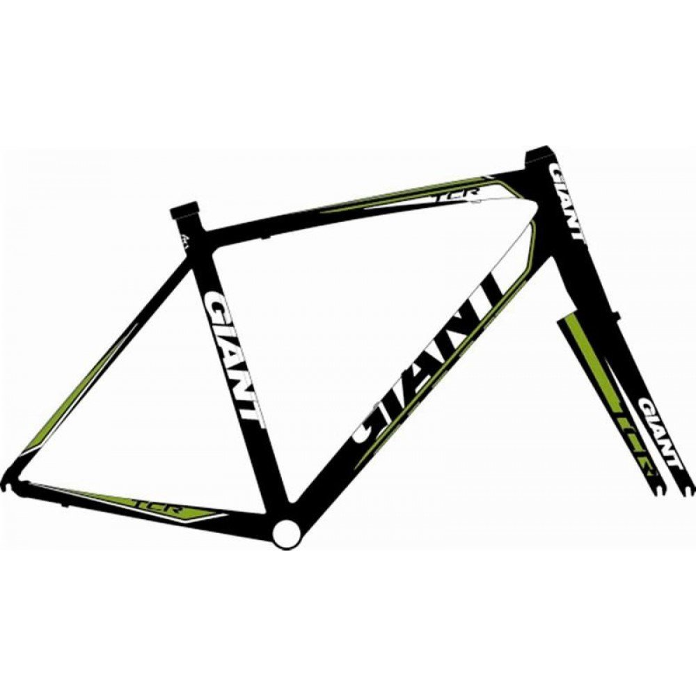 Рама Giant TCR black-green