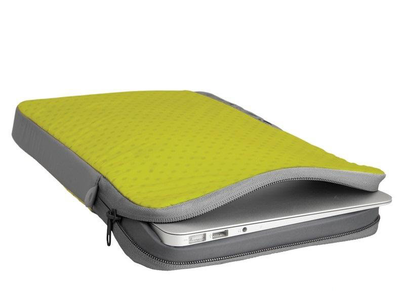 Чехол Sea to Summit TL Ultra-Sil Laptop Sleeve Lime/Grey, 11 STS ATLLAP11LI