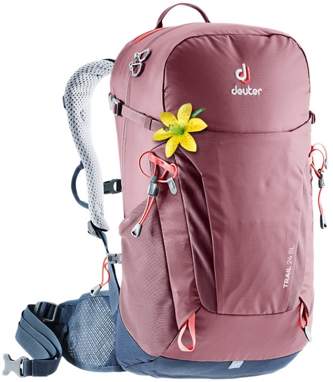 Рюкзак Deuter Trail 24 SL цвет 5322 maron-navy 3440219 5322