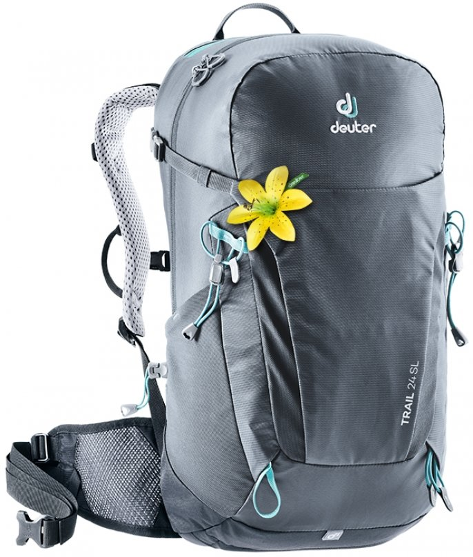 Рюкзак Deuter Trail 24 SL цвет 4701 graphite-black 3440219 4701
