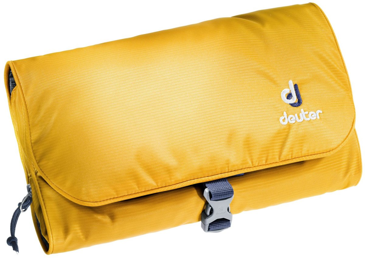 Косметичка Deuter Wash Bag II curry-navy 3900120 9309