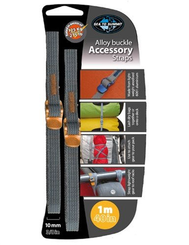 Ремень Sea to Summit Accessory Strap With Hook Buckle 10 mm для мешков 1 m STS ATDASH101.0