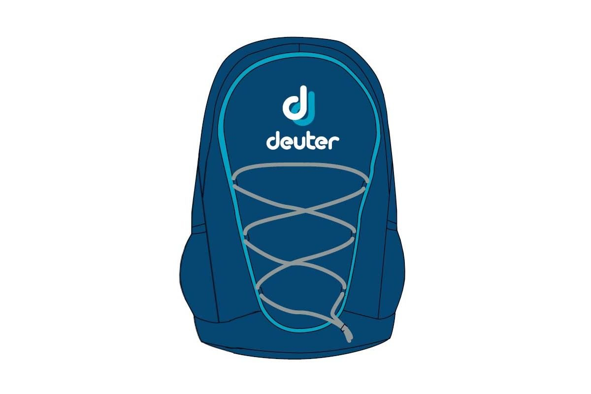 Чехол Deuter Mini Go-Go steel-turquise 75354 3352