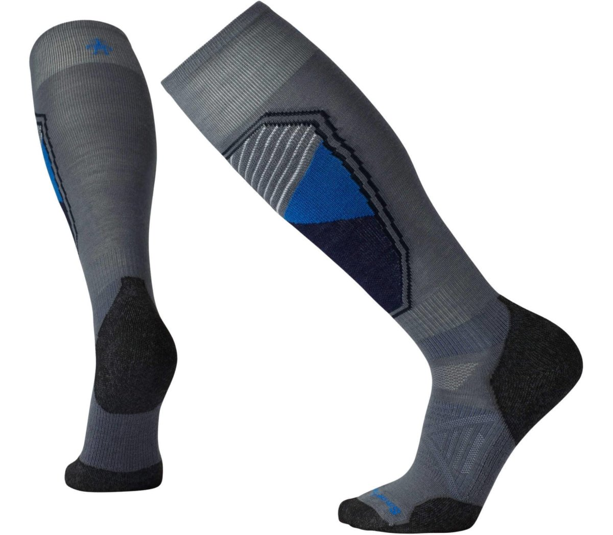 Носки Smartwool PhD Ski Light Pattern (Graphite) SW 15035.018-L SW 15035.018-M