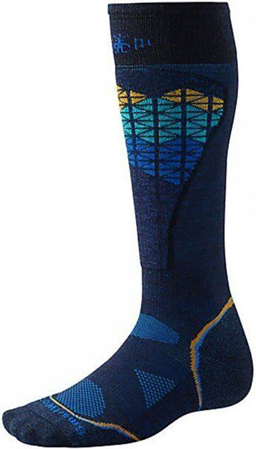 Носки Smartwool PhD Ski Light Pattern Socks (Navy) SW SW017.410-L SW SW017.410-M SW SW017.410-XL