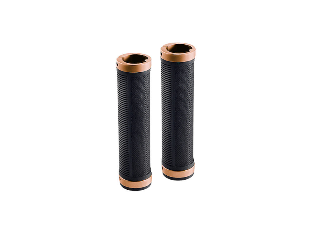 Ручки руля Brooks Cambium Rubber Grips Black/Copper 16879