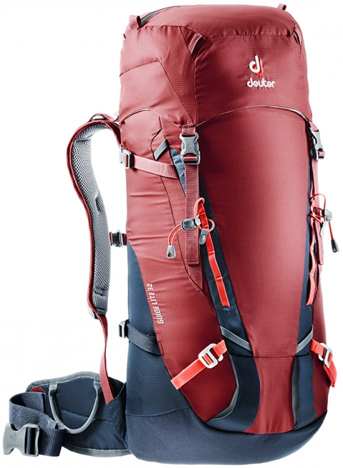 Рюкзак Deuter Guide Lite 32 цвет 5325 cranberry-navy 3360117 5325