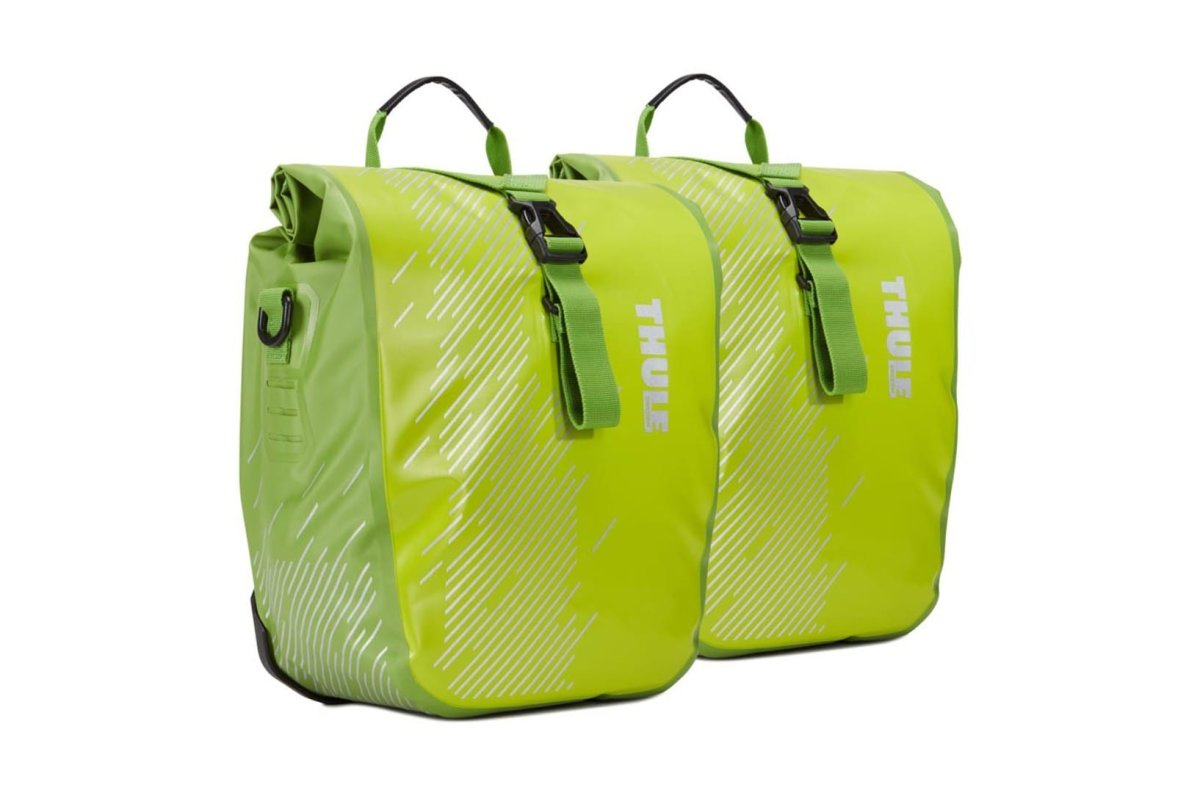 Сумка Thule Pack 'n Pedal Shield Pannier Small Chartreuse пара TH 100067