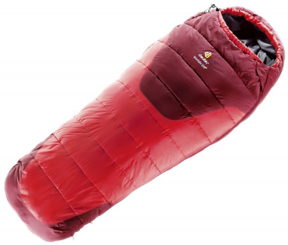 Спальник Deuter Starlight EXP левая молния цвет 5520 fire-cranberry 3720115 5520 1 3720115 5520 1