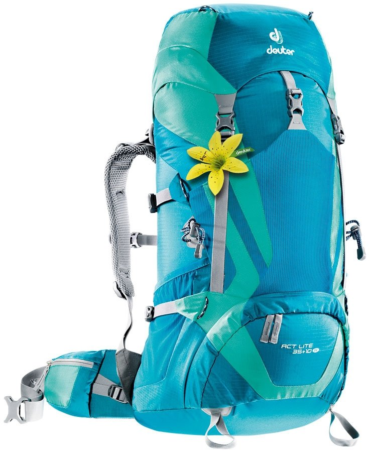 Рюкзак Deuter ACT Lite 35 + 10 SL цвет 3217 petrol-mint 3340015 3217