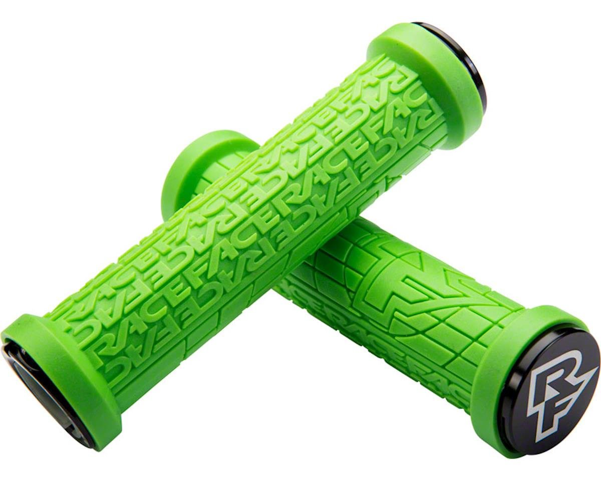Ручки руля RaceFace Grippler, 33mm, lock on, green, p360 AC990094