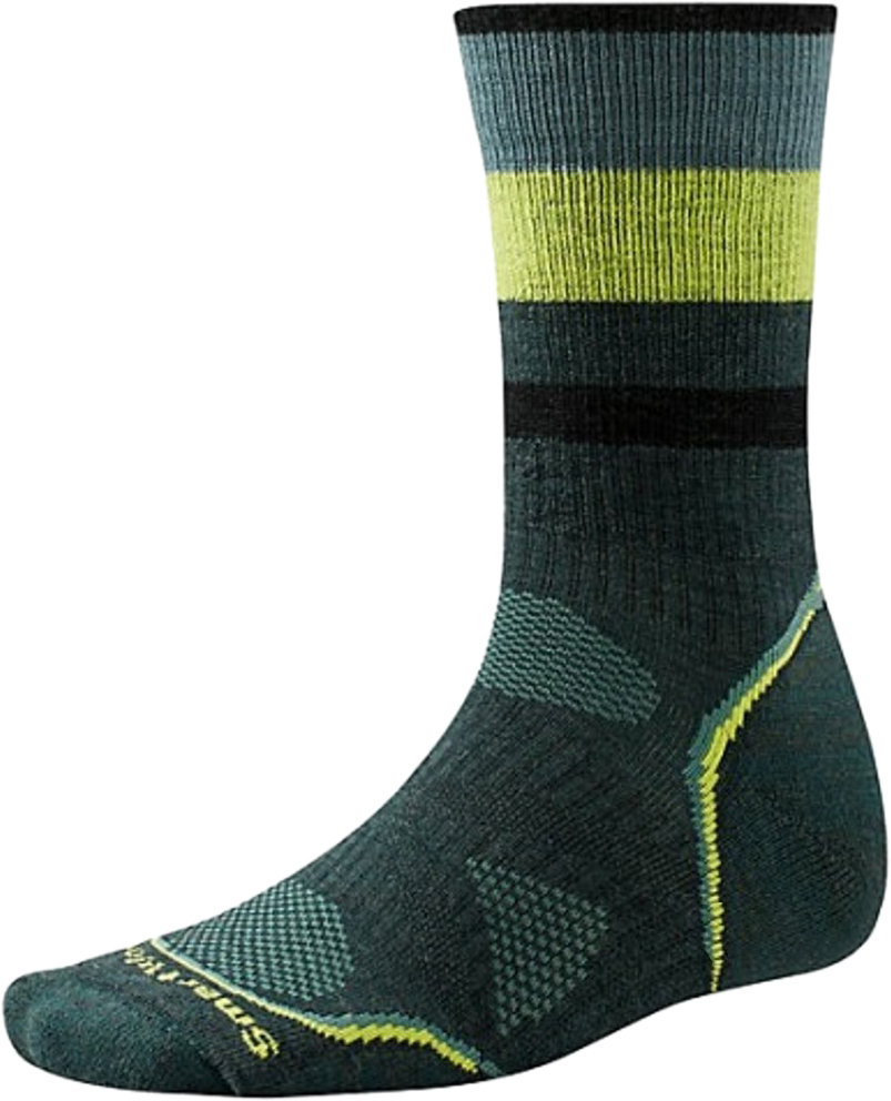 Носки Smartwool PhD Outdoor Medium Pattern Crew (Bottle Green)
