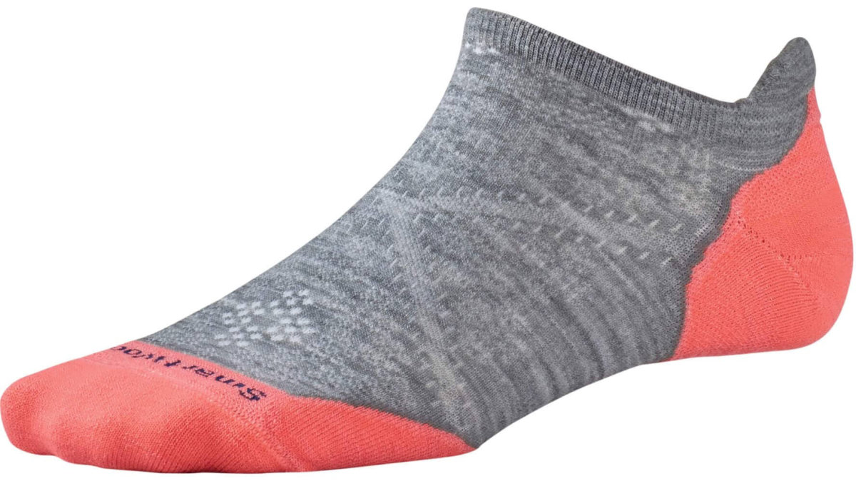 Носки женские Smartwool PhD Run Light Elite Micro (Light Gray) SW SW210.039-S