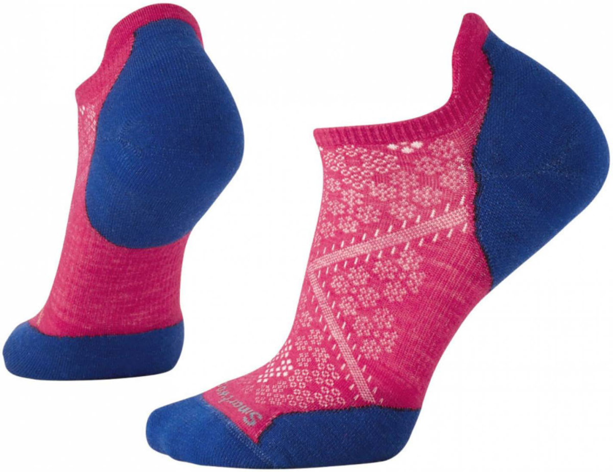 Носки женские Smartwool PhD Run Light Elite Micro (Potion Pink) SW SW210.906-M SW SW210.906-S