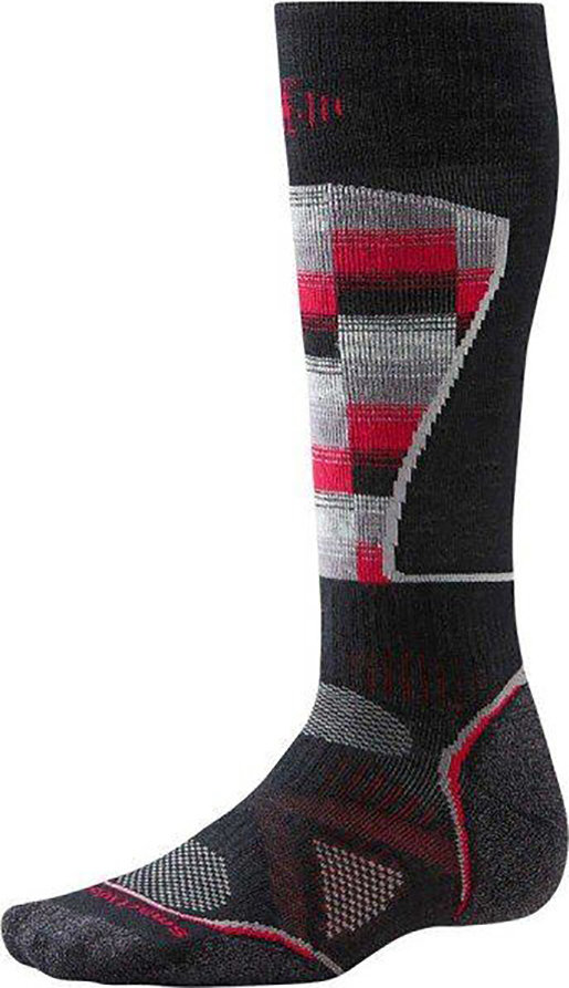 Носки Smartwool PhD Ski Medium Pattern (Black/Red) SW SW018.626-L SW SW018.626-M SW SW018.626-XL
