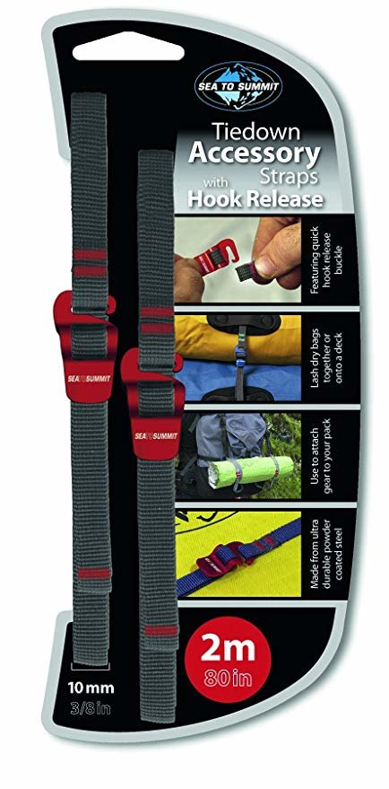 Ремень Sea to Summit Accessory Strap With Hook Buckle 10 mm для мешков 2 m STS ATDASH102.0