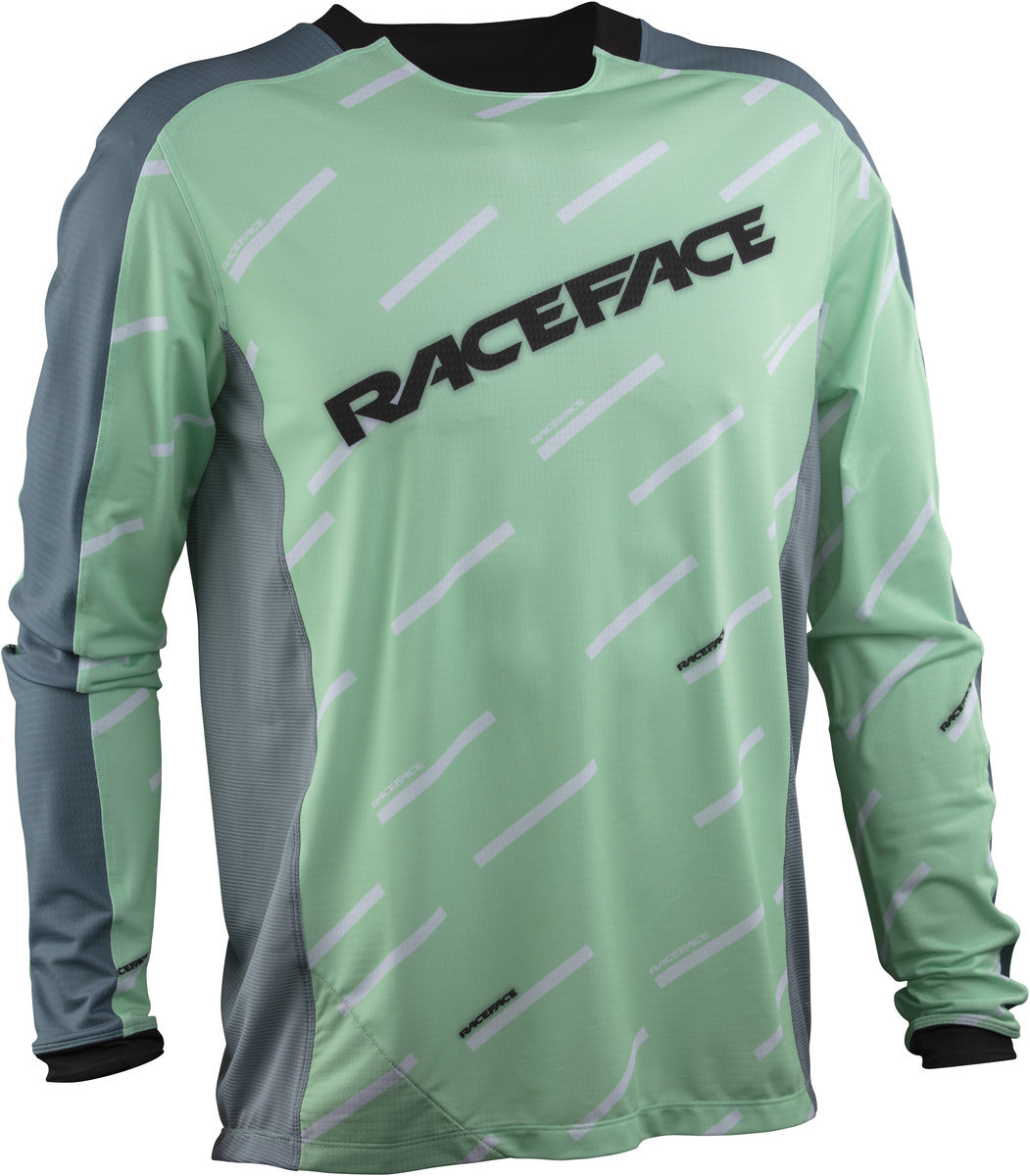 Футболка RaceFace Ruxton LS Jersey lime RFLB073064, RFLB073063