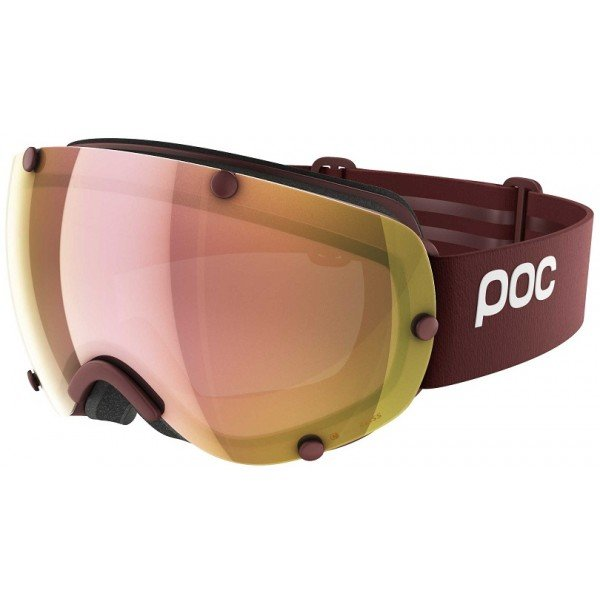 Маска POC Lobes Clarity Lactose Red/Spektris Rose Gold, One PC 401238215ONE1