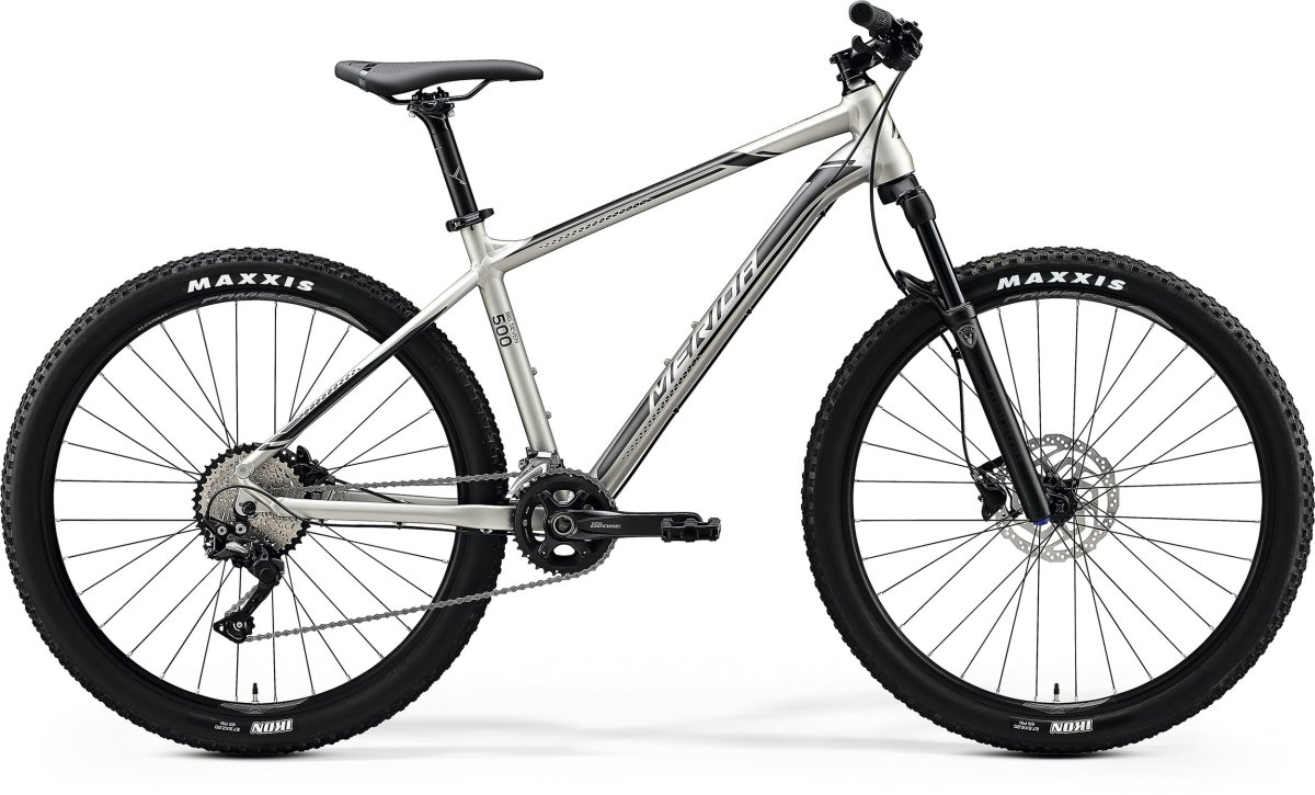 Велосипед Merida Big Seven 500 27,5 silk titan (silver/black) 6110822134