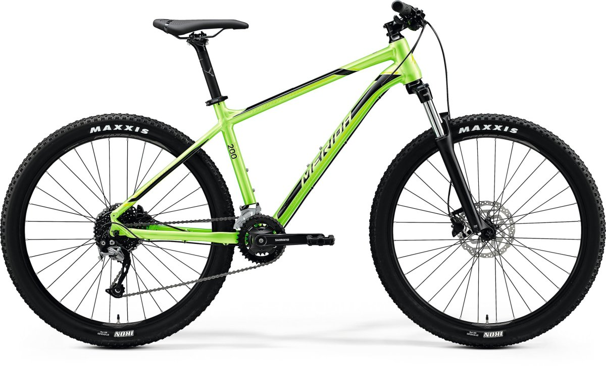 "Велосипед Merida Big.Seven 200 27,5"" glossy green (black) 6110834916 6110834927"