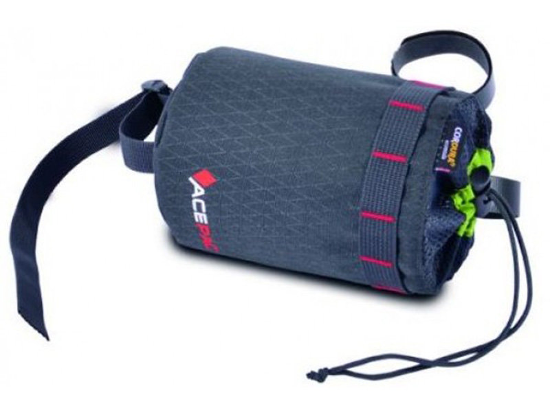 Сумка под флягу Acepac FAT BIKE BOTTLE BAG grey ACPC 1113.GRY