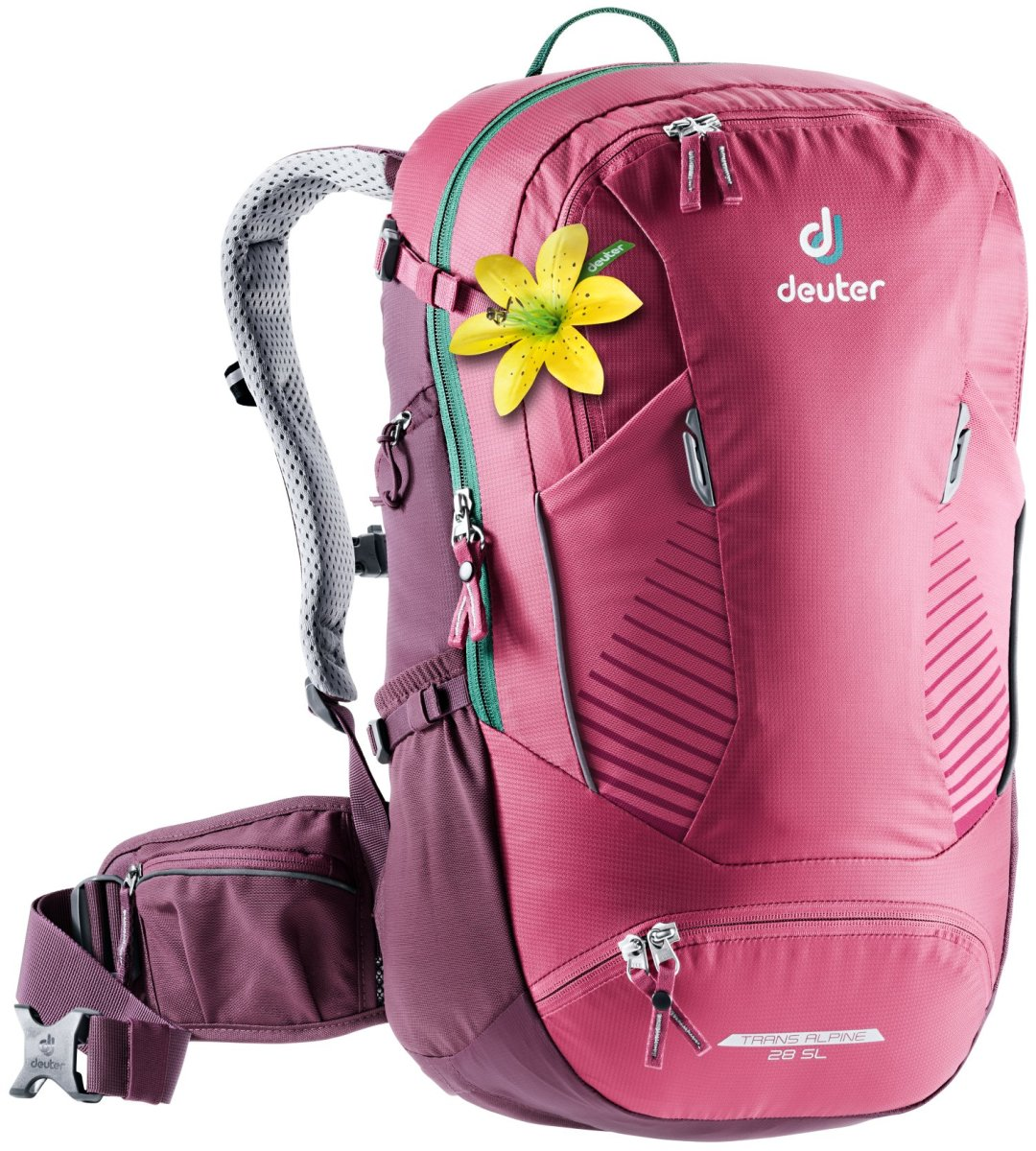 Рюкзак Deuter Trans Alpine 28 SL ruby-blackberry 3205120 5563
