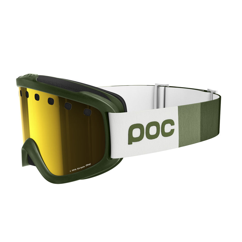 Маска POC Iris Stripes Methane Green PC 400431425REG PC 400431425SML1