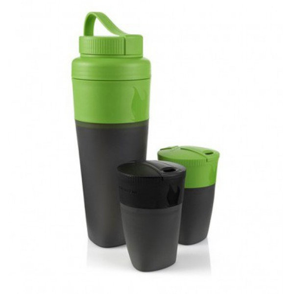 Стакан Light my fire Pack-up-Drink Kit набор Green/Black LMF 50694740