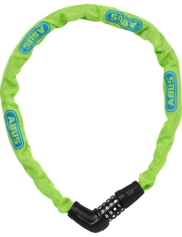 Замок кодовый Abus 5805C/75 STEEL-O-CHAIN lime 724961